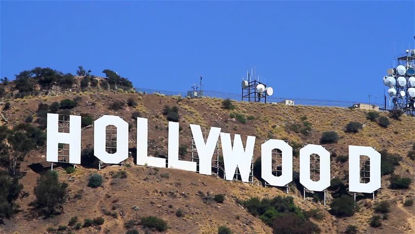 how tall are the hollywood letters los angeles california august 26 2014 the ionic 22654