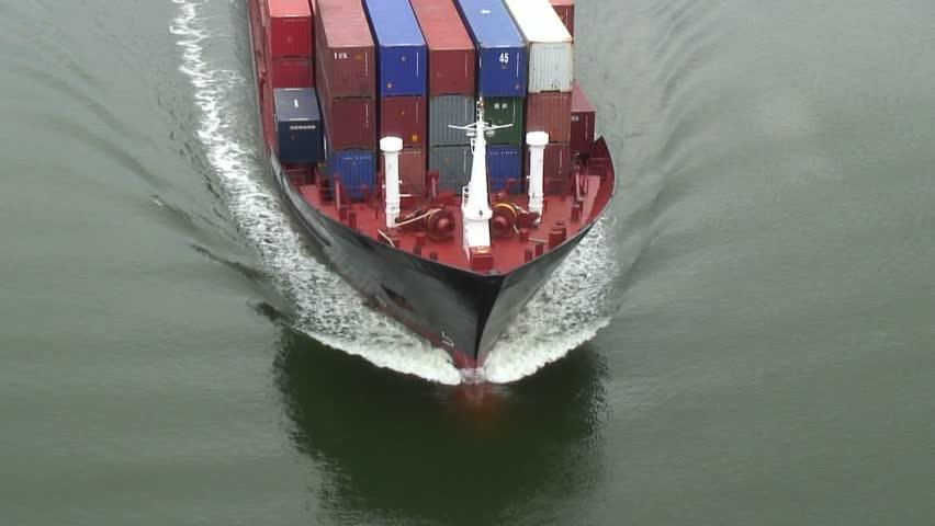 Header of ship