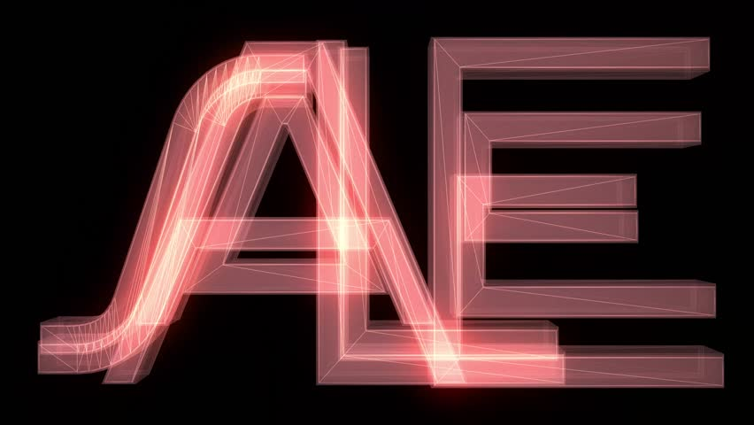 red wireframe neon SALE text fly in with glitch noise distortion animation on black background - new quality retro vintage game film motion joyful advertisement commercial video footage loop design