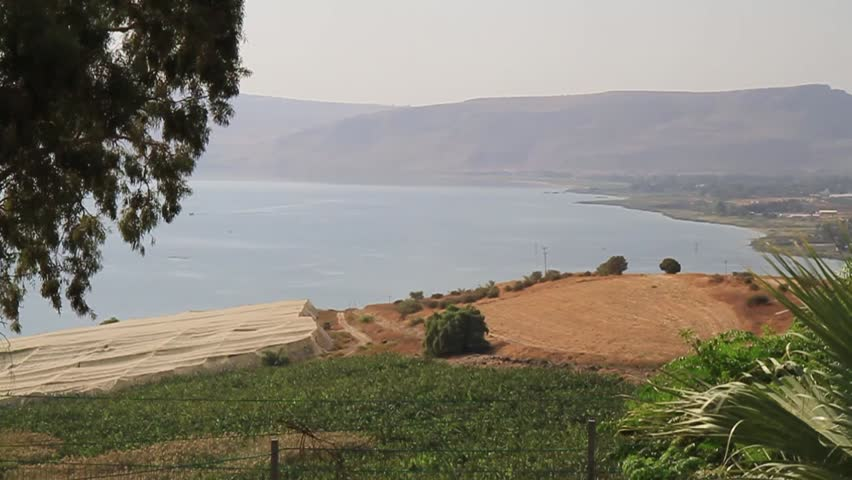 Lake galilee in northern Israel, where many of the stories of the new testament happened
