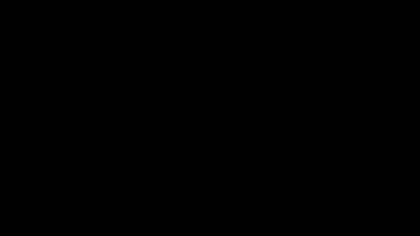 Hindu God Krishna with Flute Motion Graphic