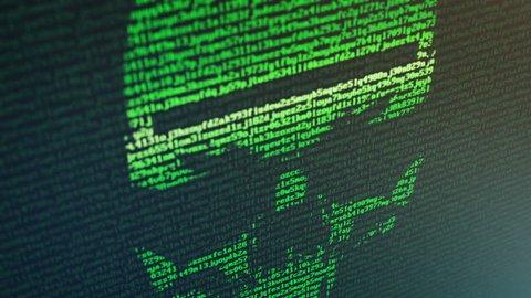 Ransomware attack - Skull Random Data