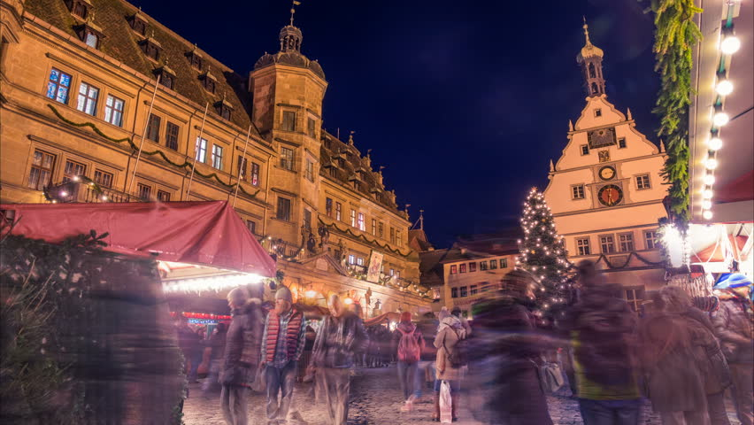 Rothenburg Ob Der Tauber Germany Stock Footage Video 100 Royalty Free 34584616 Shutterstock