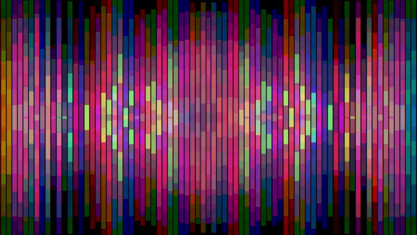 Abstract rainbow color moving vertical pixel block background animation New quality holiday universal motion dynamic animated colorful joyful glamour contemporary retro vintage dance music video | Shutterstock HD Video #34616596