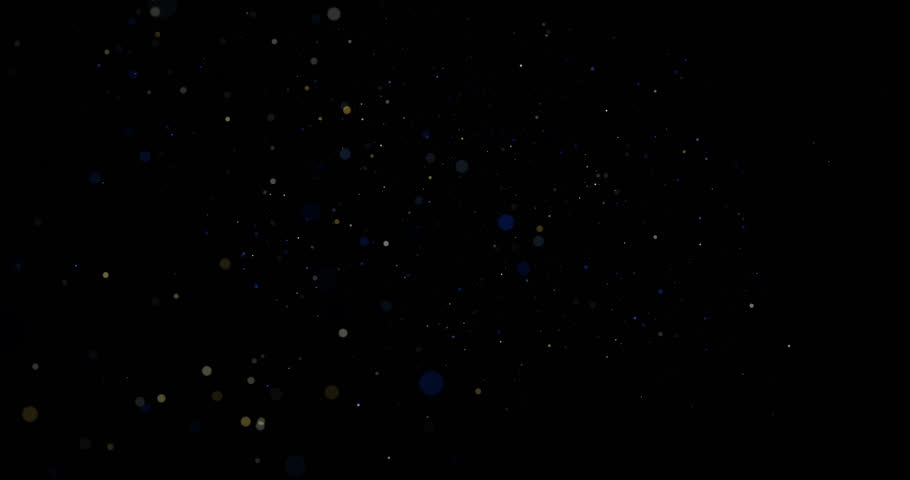 Flying dust particles on a black background | Shutterstock HD Video #34720066