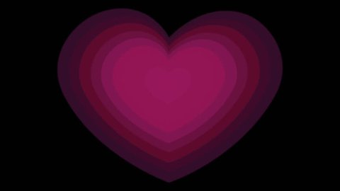 background of love and heart pink black