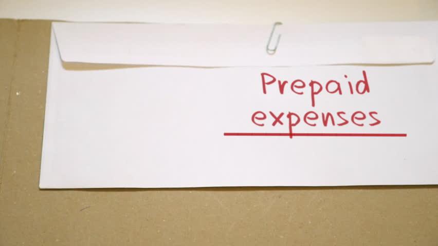 hd0009prepaid expenses concept