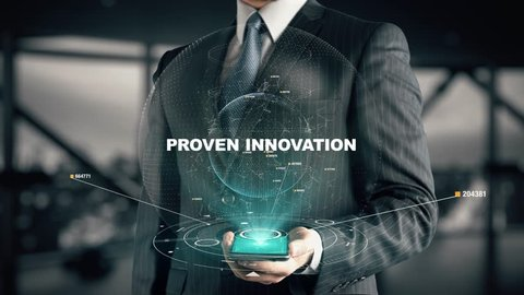 Businessman with Proven Innovation