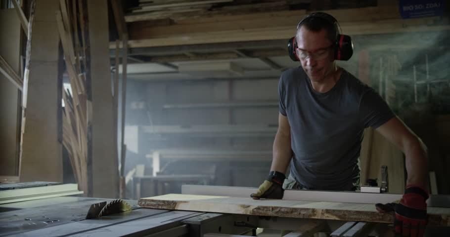 Header of woodworker