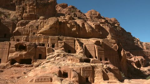 Houses in Petra