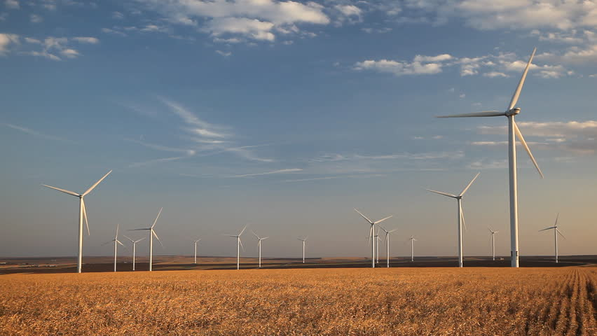 Clean and Renewable Energy, Wind Power, Turbine, Windmill, Energy Production | Shutterstock HD Video #3505058