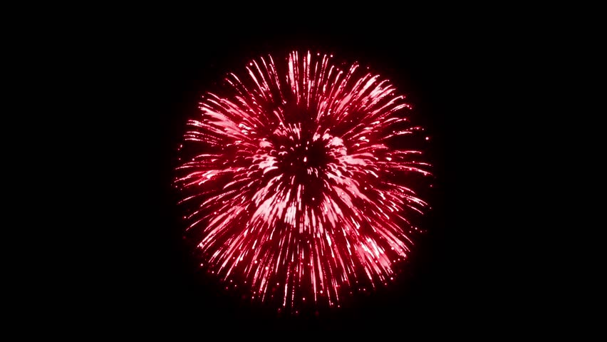 Super Firework Red, Holliday, Celebration, New Year, The 4th of July, Christmas, Festival | Shutterstock HD Video #35054746