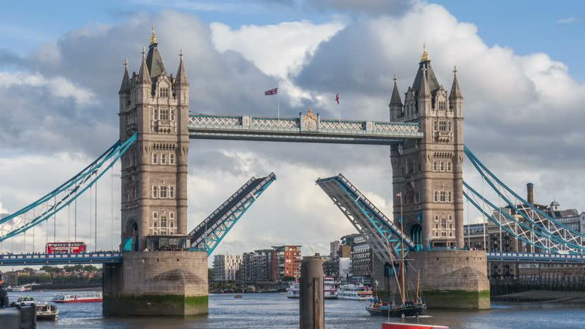 London Bridge Stock Footage Video   Shutterstock