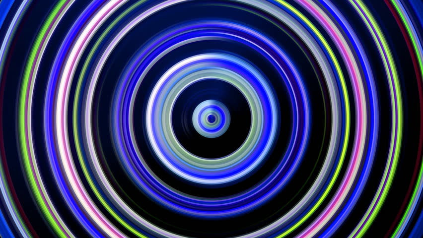 Blue Abstract Background, Spiral Light, Loop Stock Footage Video ...