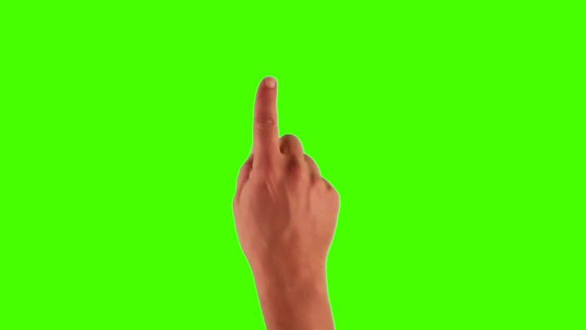 Set of hand gestures, showing the uses of computer touchscreen, tablet, trackpad or ipad. Full HD with green screen. modern technology, 1080p, 1920x1080 | Shutterstock HD Video #3570497