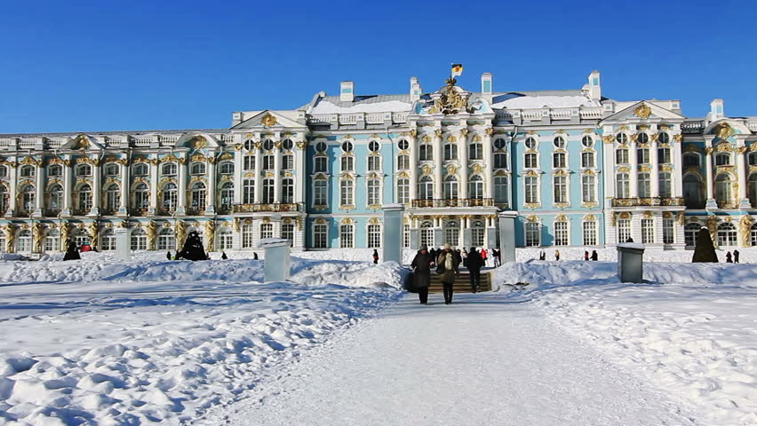 central gate  hermitage museum winter palace saint