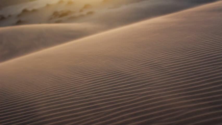 Sandstorm in desert  | Shutterstock HD Video #3608942