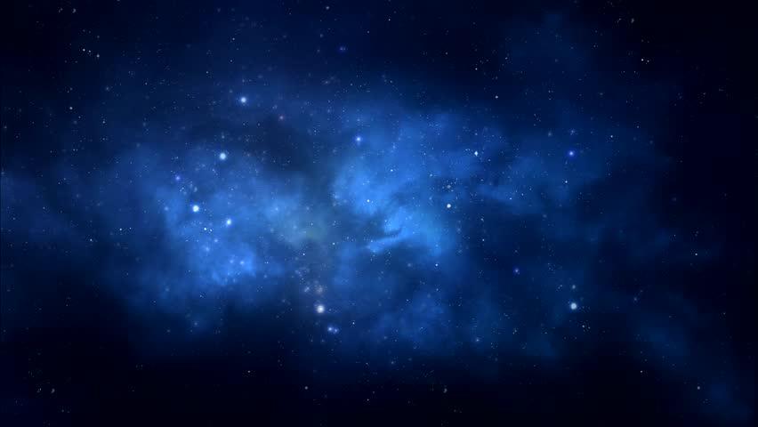 Starry night sky stock footage video shutterstock - Starry sky 4k ...
