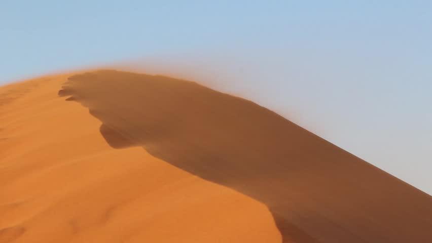 Sossusvlei sand dunes landscape in the Nanib desert near Sesriem, Namibia  #3646001