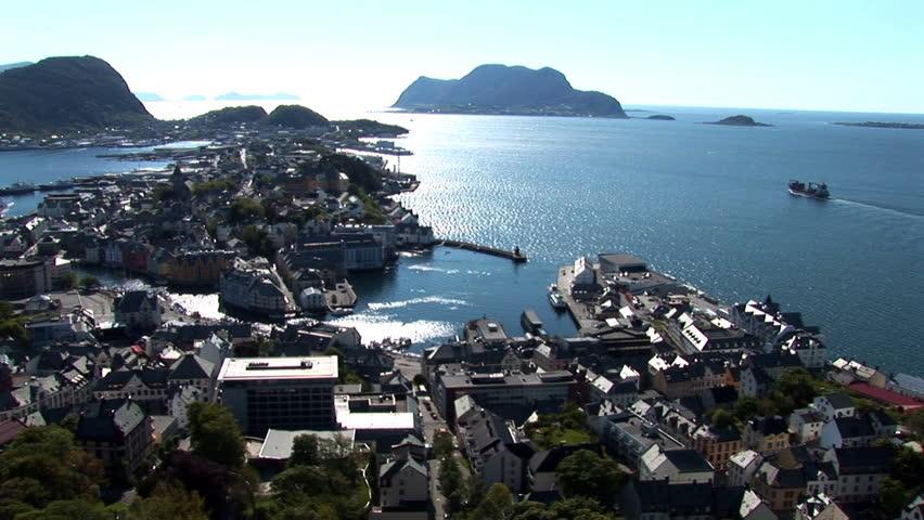 Norway, Norwegian City Travel Destination - Panorama