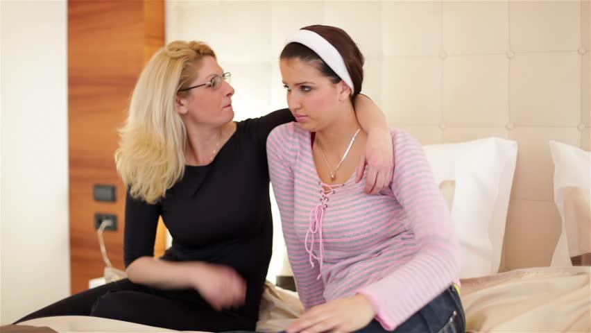 Lesbian Seduces Girl