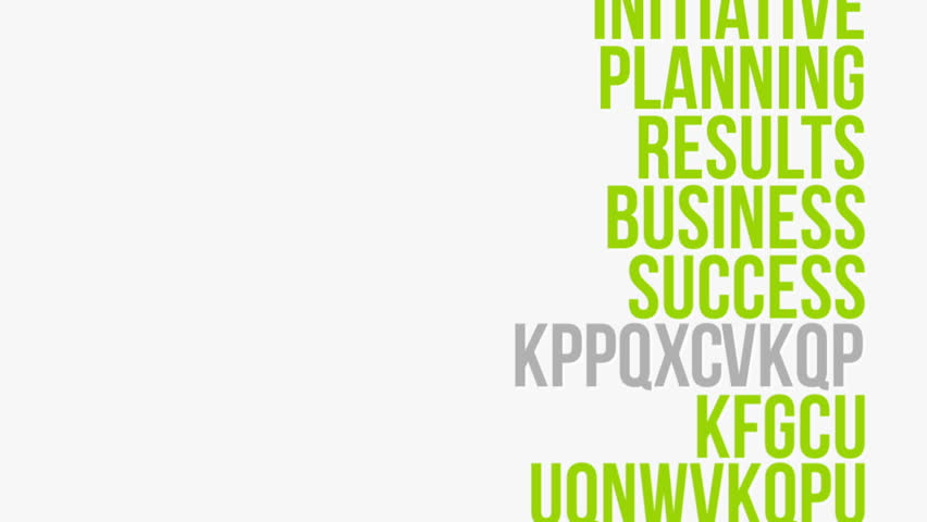 Random Generated Business Related Words