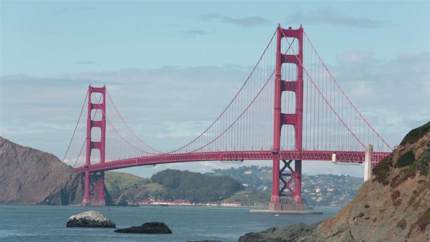 Golden Gate Bridge in San Francisco, CA #3718733