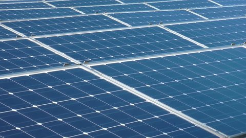 solar panels crane shot 4/9