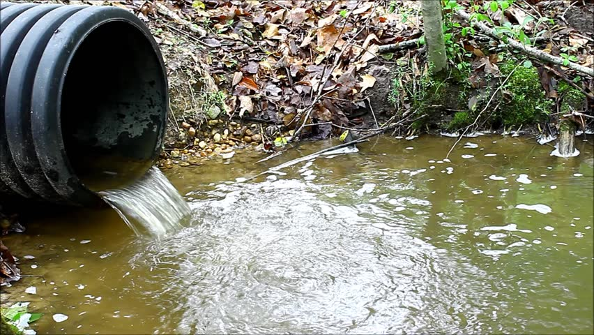 Visually similar footage & Stock video of an old plastic storm drain pipe   3897398   Shutterstock