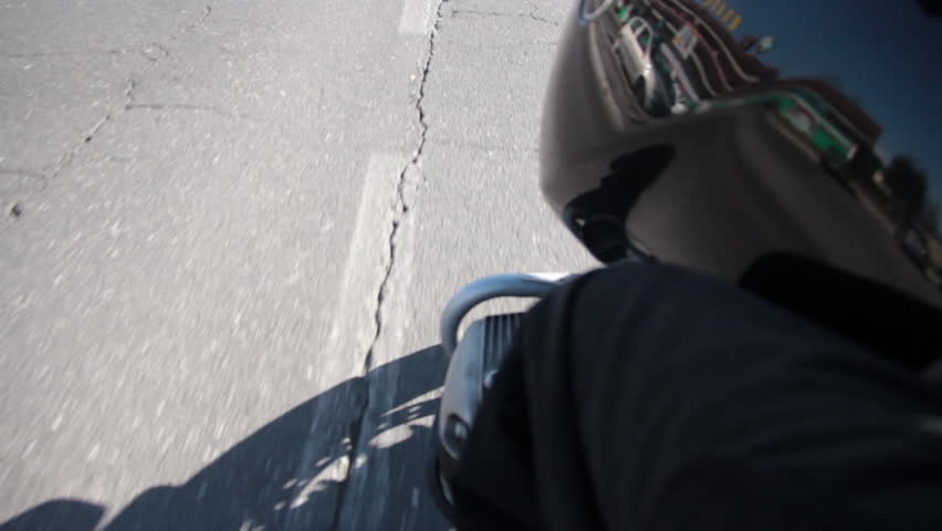 cute childs office chair. man riding a motorcycle on the road hd stock footage clip cute childs office chair