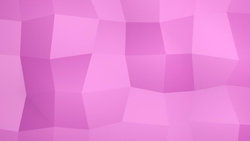 Looping pink geometric background (FULL HD) | Shutterstock HD Video #3849356