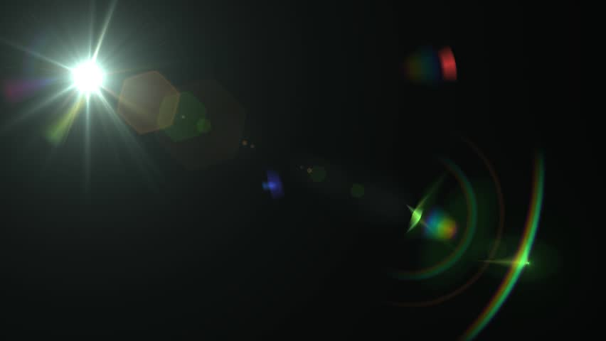 Lens Flare Motion Background | Shutterstock HD Video #3860696