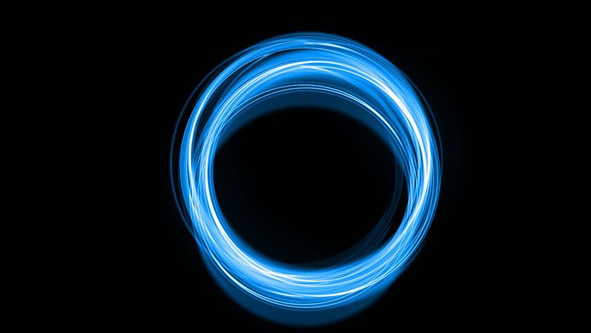 beautiful neon circles 4k - photo #45