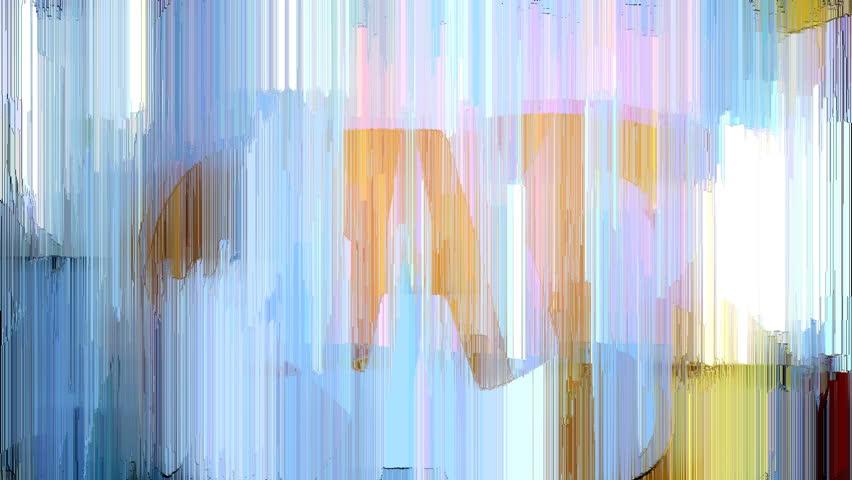 Abstract Graffiti Mosaic Streak Loop | Shutterstock HD Video #3895916