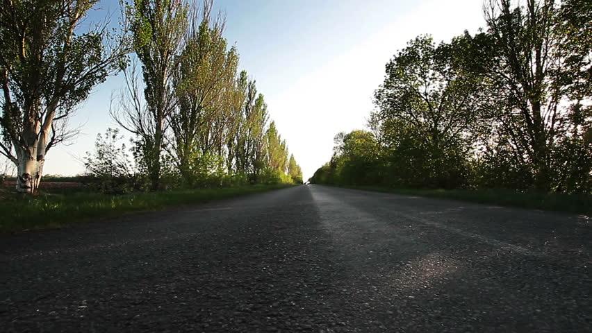 Motorbikes on road  | Shutterstock HD Video #3899816