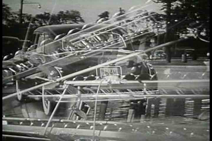 1950s - Oil and gas help fuel America's development of freeways and highways in the 1950s.