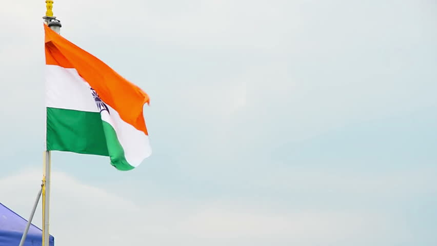 Indian Animated Flag Waving: Flag Of India Beautiful 3d Animation Of India Flag In Loop