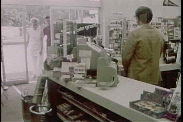 1970s - A cautionary film for convenience store owners about the risks of underage alcohol sales and the various ploys minors use to outwit store clerks.