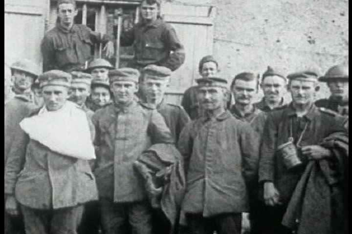 1910s - 10,000 American troops a day enter World War One.