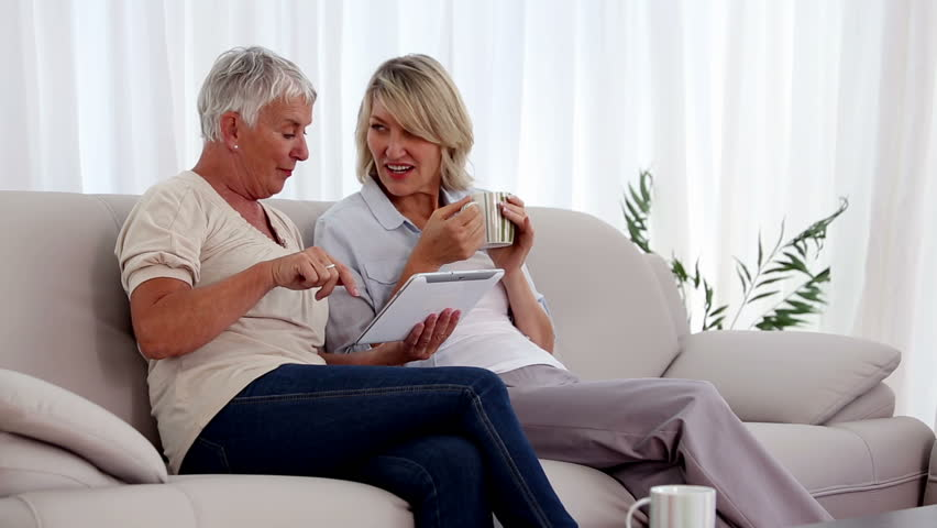 Mature Couple Watching Television Stock Footage Video 9062471  Shutterstock-2936