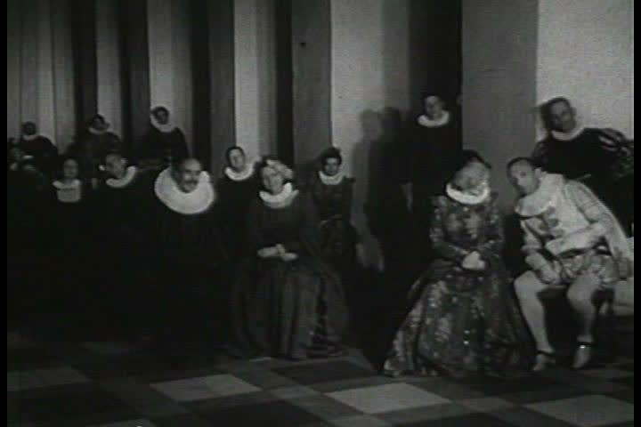 1950s - Newsreel feature: Hamlet's castle in Denmark - Part 2 of 2