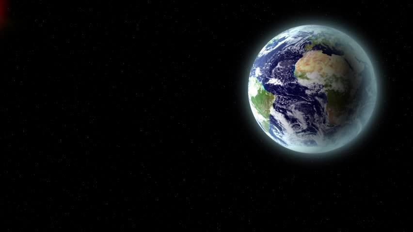 Impact - Earth texture by NASA.gov
