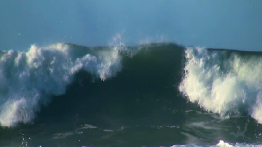 Ocean big waves