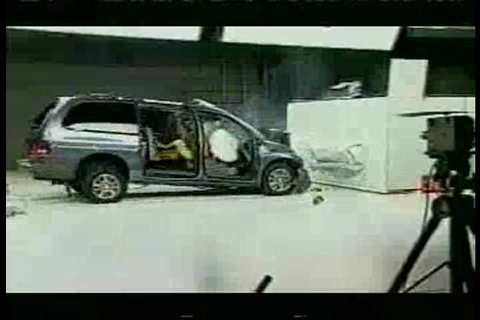 1960s - Dodge Grand Caravan crash test