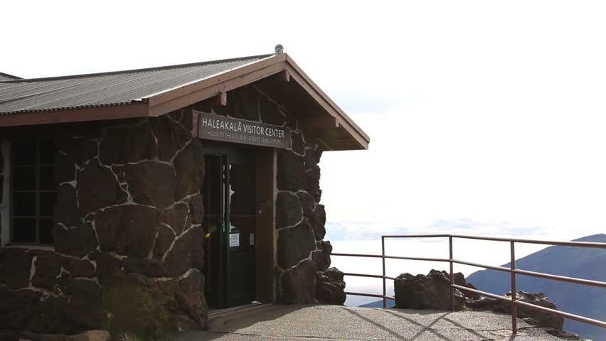 Haleakala Visitor Center - HD stock footage clip