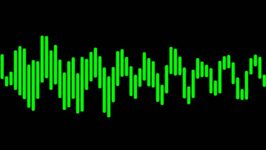 Green Cgi Audio Waves Stock Footage Video (100% Royalty-free) 4159906 |  Shutterstock