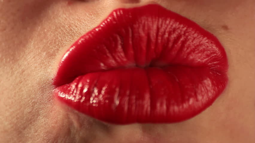 Woman mouth making kisses. Find similar clips in our portfolio.