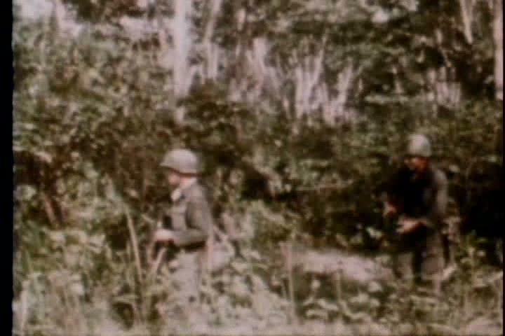 1960s - Soldiers Battle Vietcong Stock Footage Video (100% Royalty-free)  4203796 | Shutterstock
