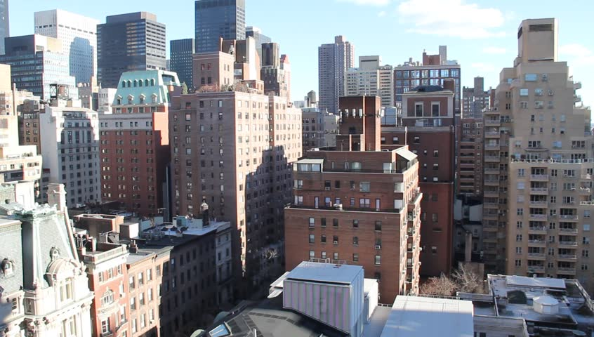 NYC Cluster of Apartment Buildings in Murray Hill