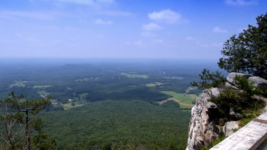 Hd00 20the View From The Top Of Pilot Mountain In Northern North